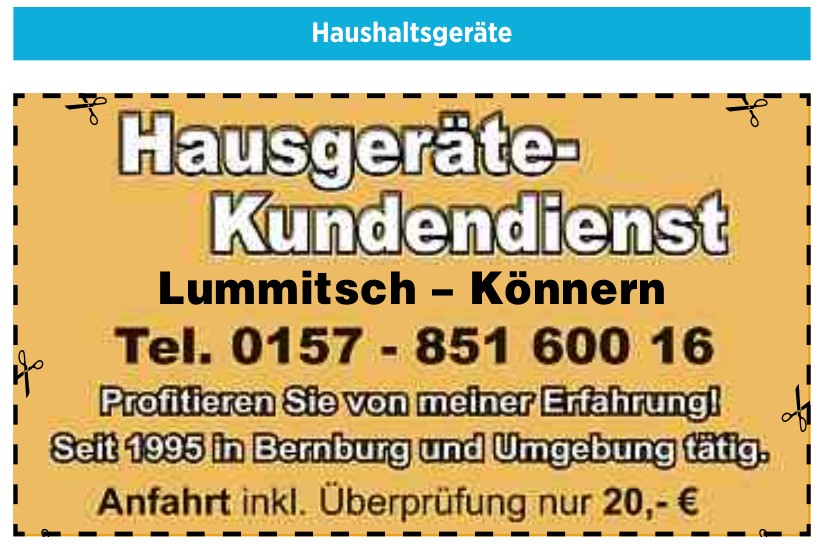 Lummitsch – Könnern