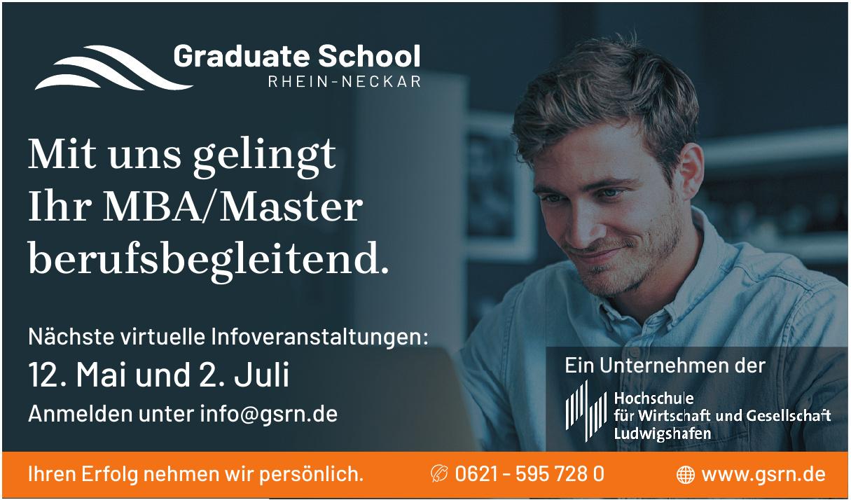 GSRN Graduate School Rhein-Neckar