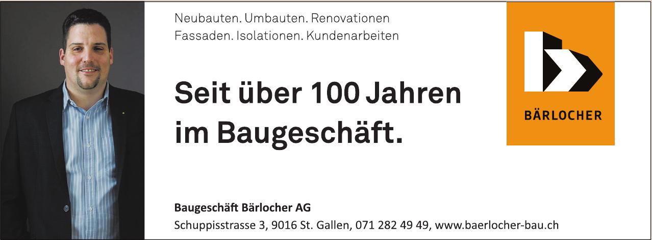 Baugeschäft Bärlocher AG