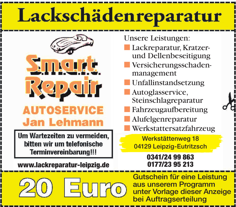 Smart Repair Jan Lehmann