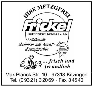 Metzgerei Frickel