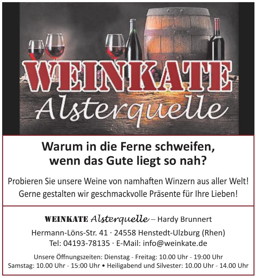 Weinkatte Alsterquelle