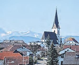 Blick auf Aschach/Steyr Foto: feh