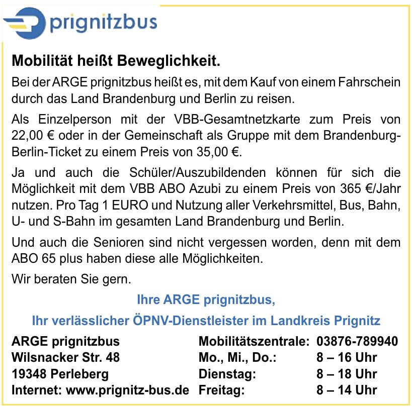 ARGE prignitzbus