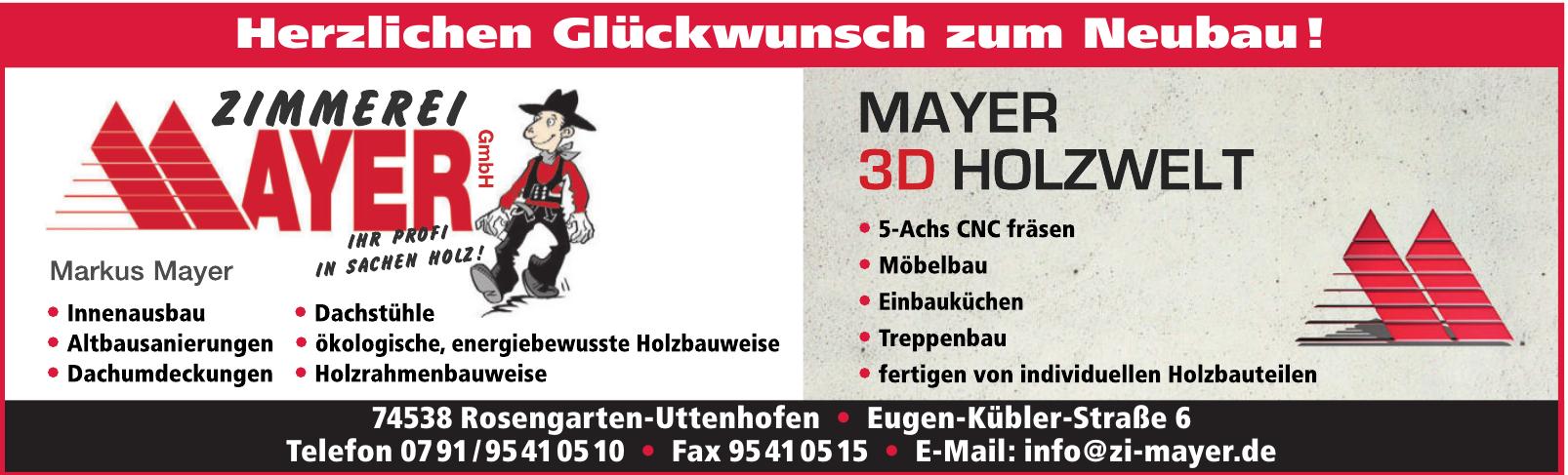 Zimmerei Mayer GmbH