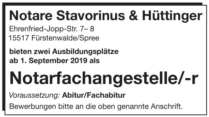 Notare Stavorinus & Hüttinger