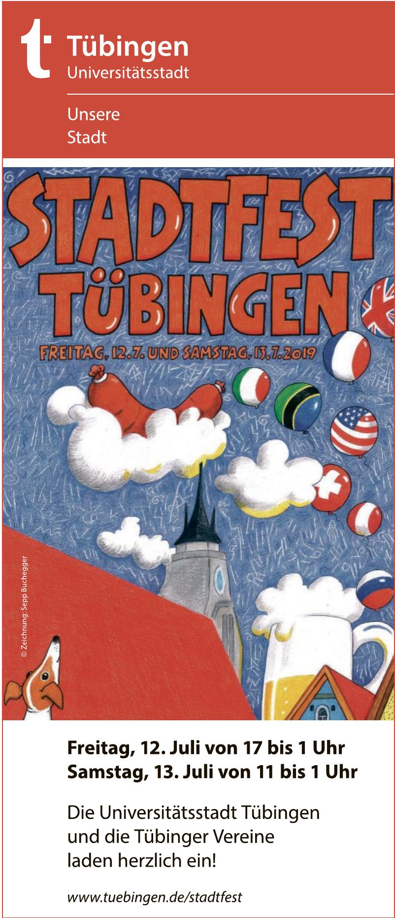 Stadtfest Tübingen