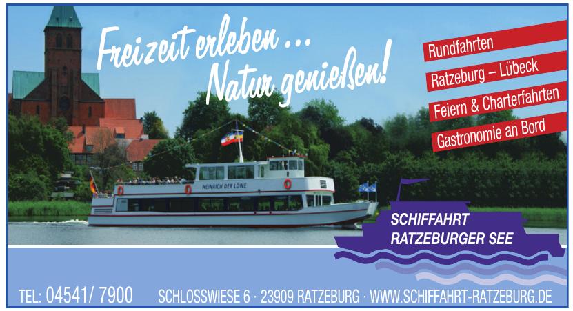 Schiffahrt Ratzeburger See