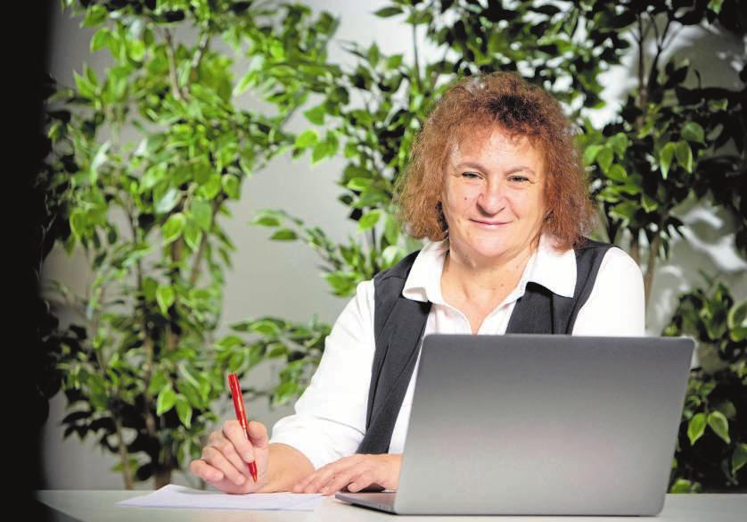 Consuelo Camacho, Firmenchefin der Hausengel. FOTO: HFR