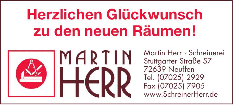 Martin Herr - Schreinerei