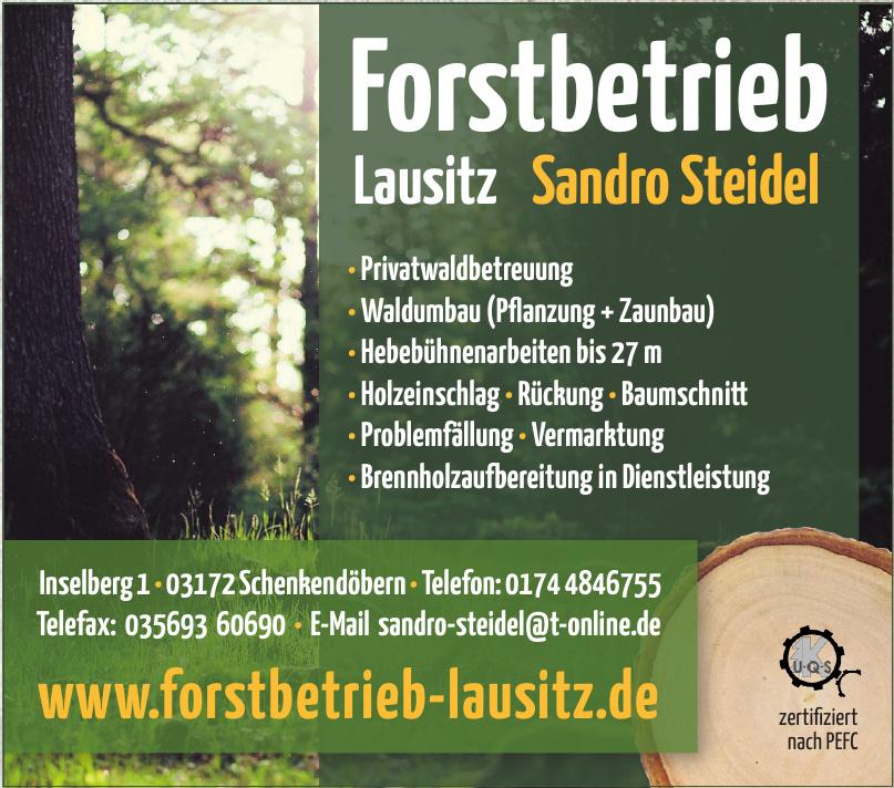 Forstbetrieb Lausitz - Sandro Steidel