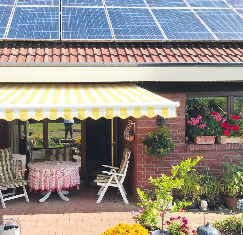 Die Kraft der Sonne vom eigenen Dach nutzen: Mit einer Fotovoltaikanlage kann man seine eigene Energiewende gestalten Fotos: Sabine Skibbe