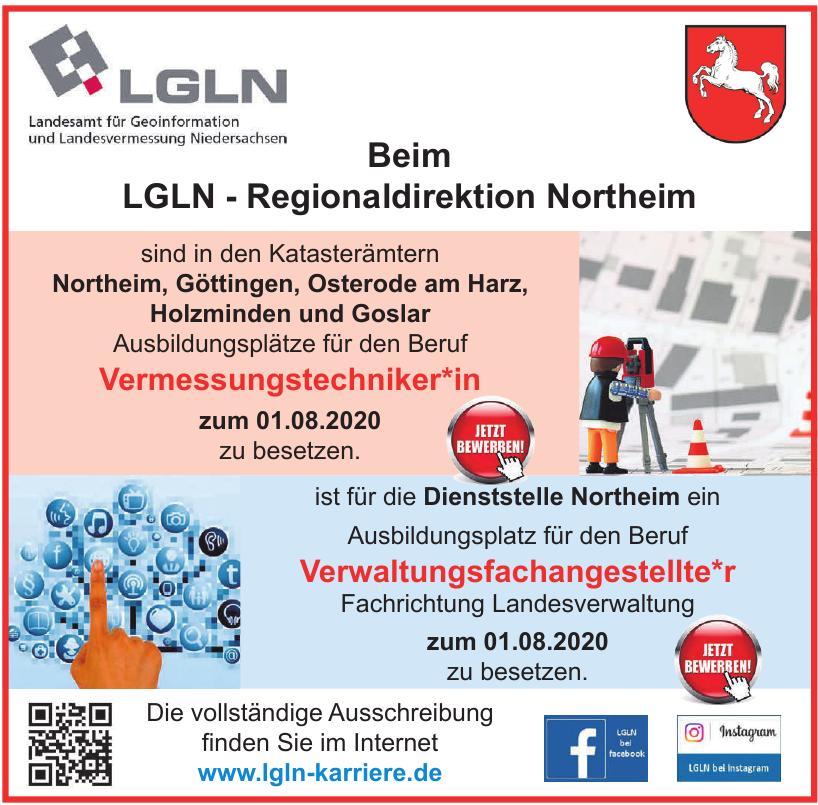 LGLN Landesamt für Geoinformation und Landesvermessung Niedersachsen
