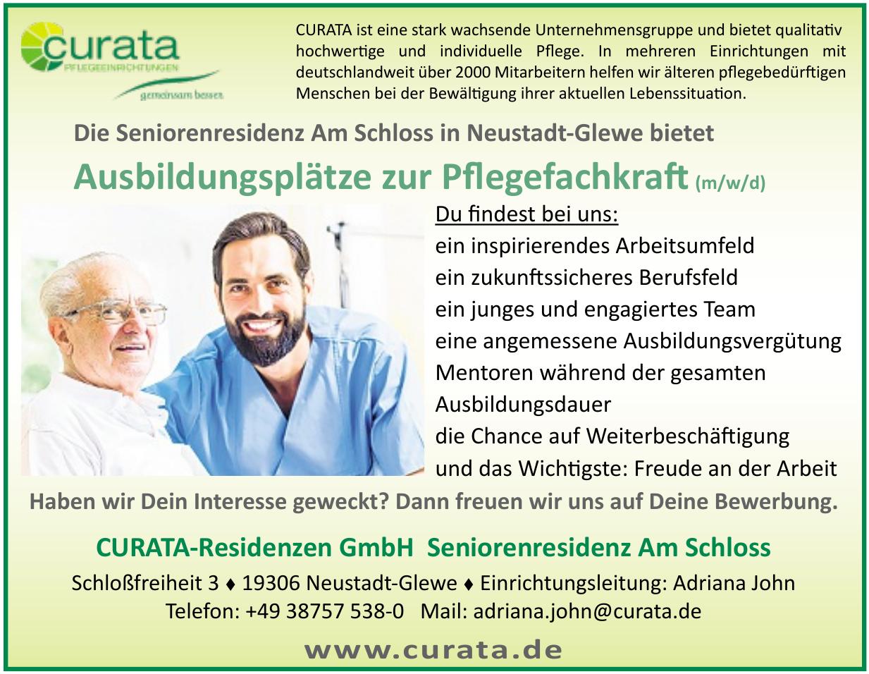 CURATA-Residenzen GmbH - Seniorenresidenz Am Schloss