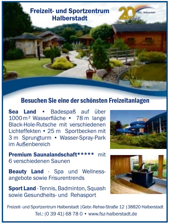 Freizeit- und Sportzentrum Halberstadt