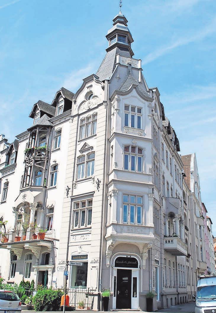 Die Südstadt besticht durch einen gelungenen Mix von historischen Gebäuden und topmodernen Häusern.