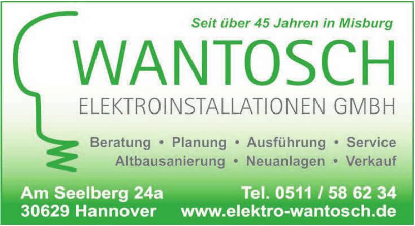 Wantosch Elektroinstallationen GmbH