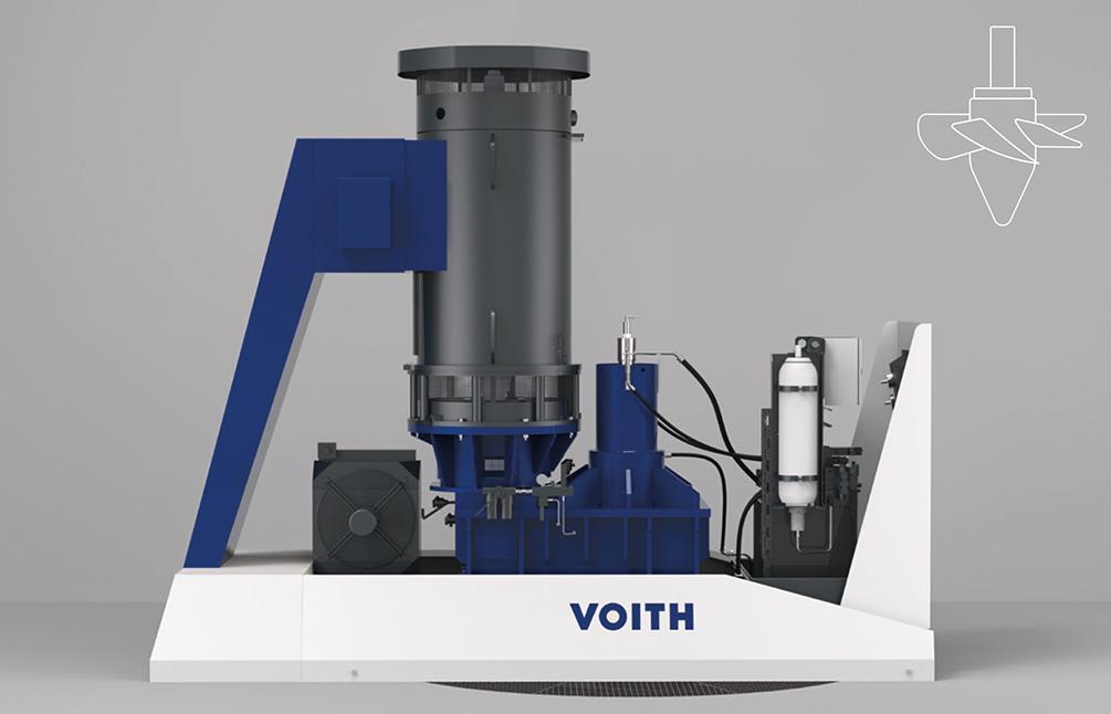Vertikale eQ Kaplan-Einheit –<div>Ausgangsleistung im Bereich</div> <div>bis zu 1.000 kW</div>