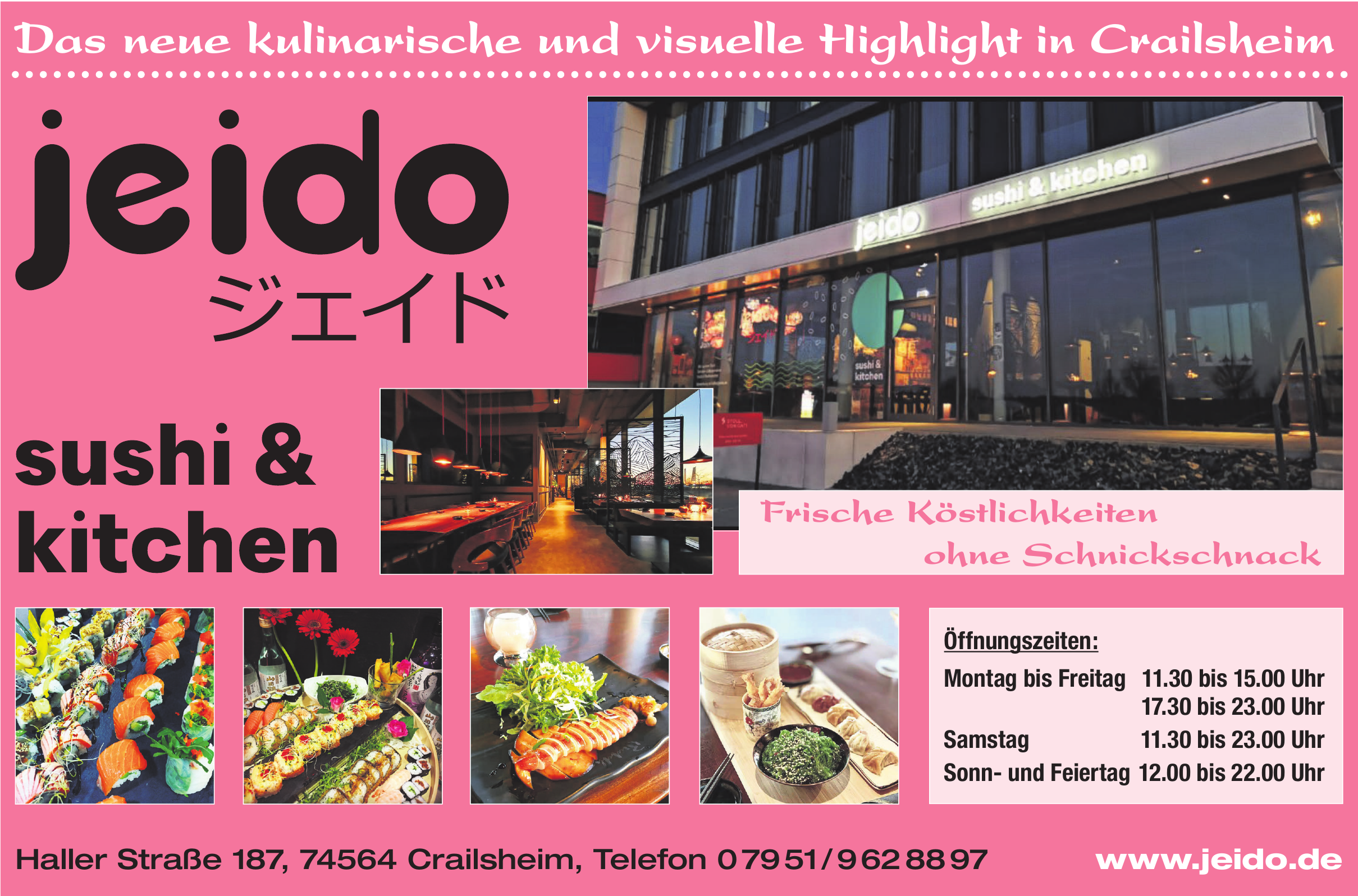 Jeido Sushi & Kitchen
