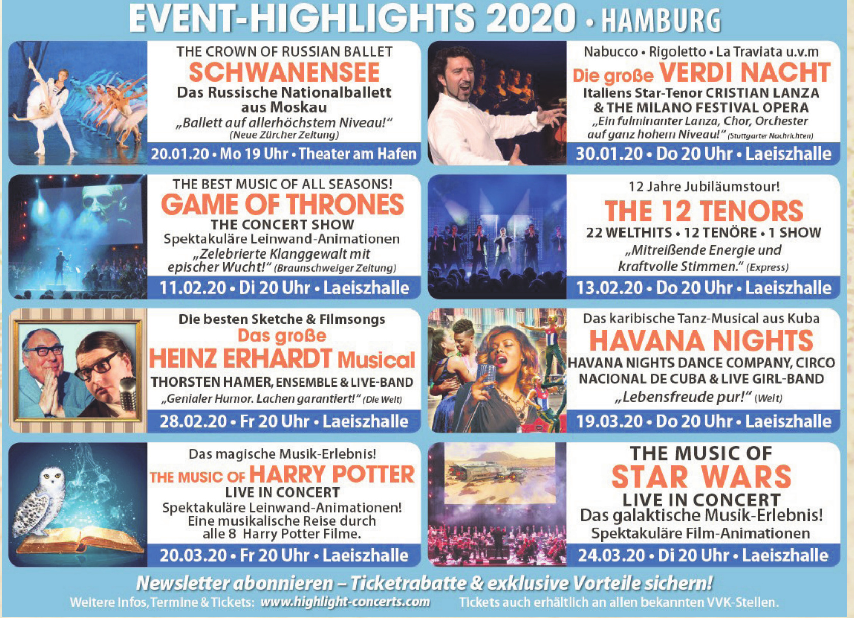 Event-Highlights 2020