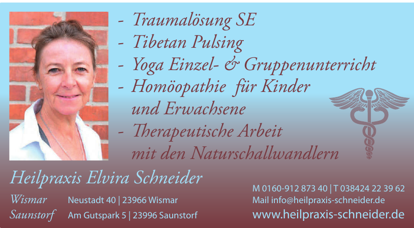 Heilpraxis Elvira Schneider