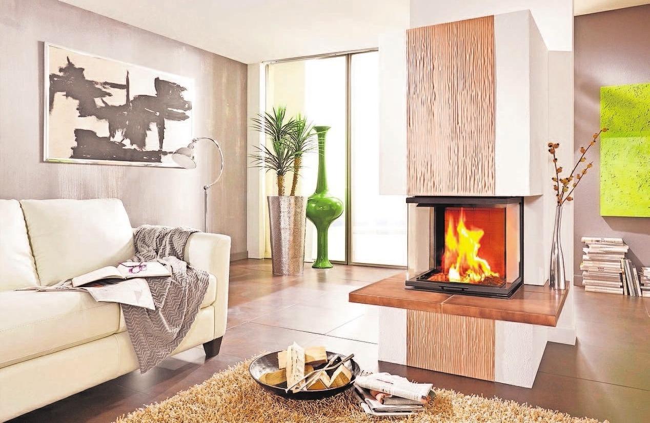 Kachelofen- und Luftheizungsbau Leicht sorgt für wohlige Wärme im Haus.