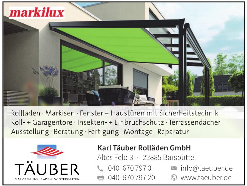 Karl Täuber Rolläden GmbH