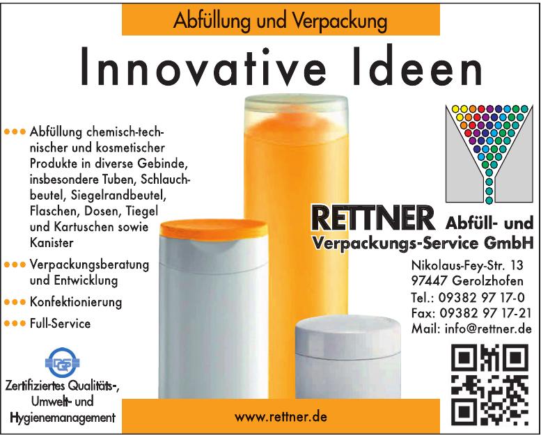 Rettner Abfüll- und Verpackungs-Service GmbH