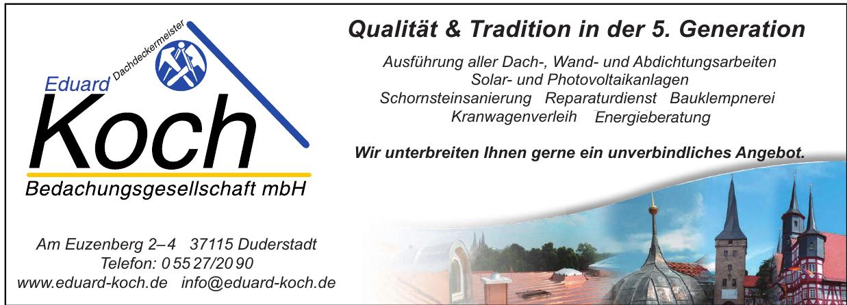 Eduard Koch Bedachungsgesellschaft mbH