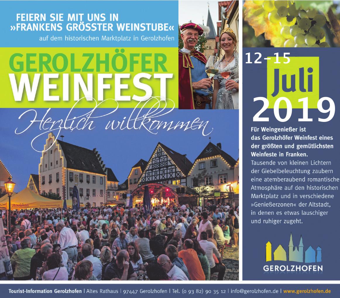 Tourist-Information Gerolzhofen