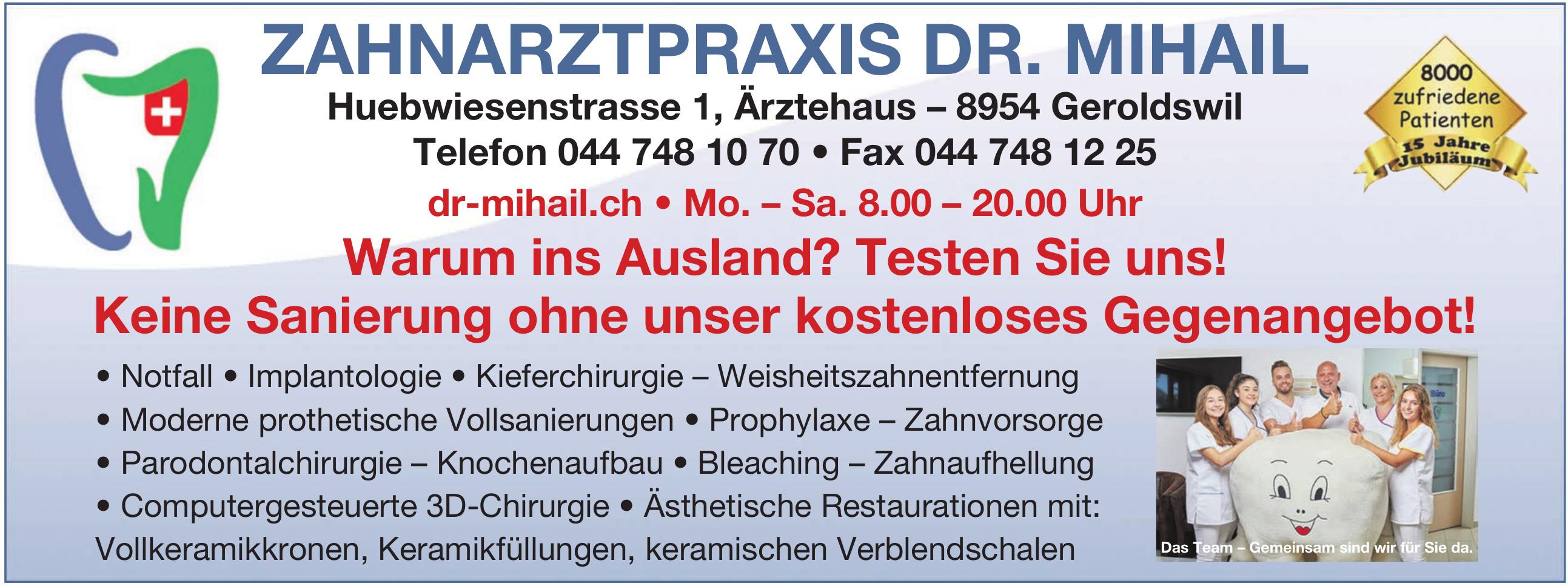 Zahnarztpraxis Dr. Mihail