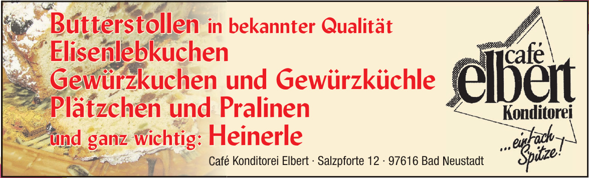 Café Konditorei Elbert