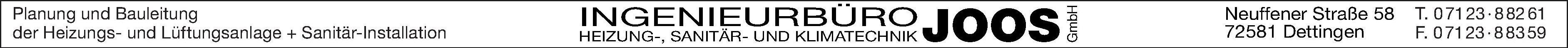 Ingenierbüro Joos GmbH