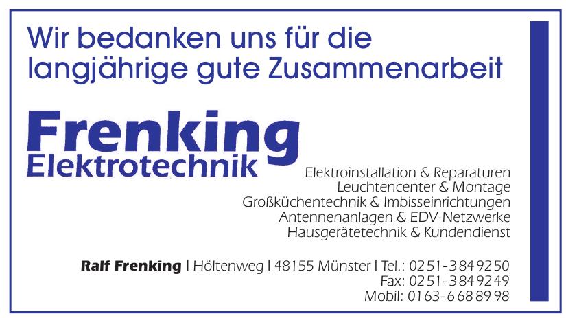 Frenking Elektrotechnik