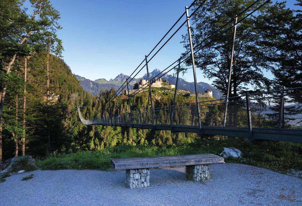 Die Burgenwelt Ehrenberg bietet Abwechslung für die ganze Familie. Foto: Michael Böhmländer / Naturparkregion Reutte