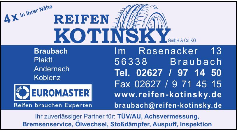 Reifen Kotinsky GmbH & Co.KG