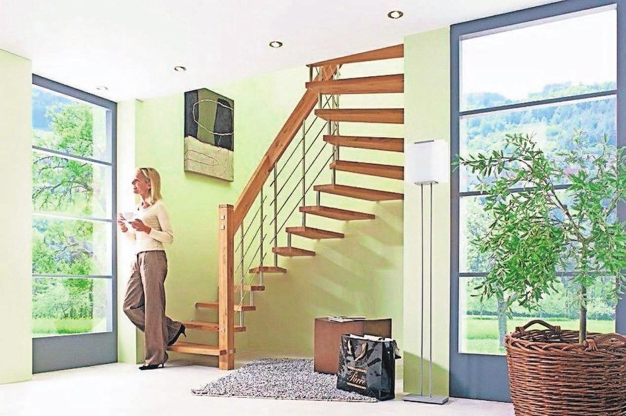 Wie neu: Am schnellsten werden Treppen wieder hübsch, wenn sie einfach ummantelt werden. Foto: dpa