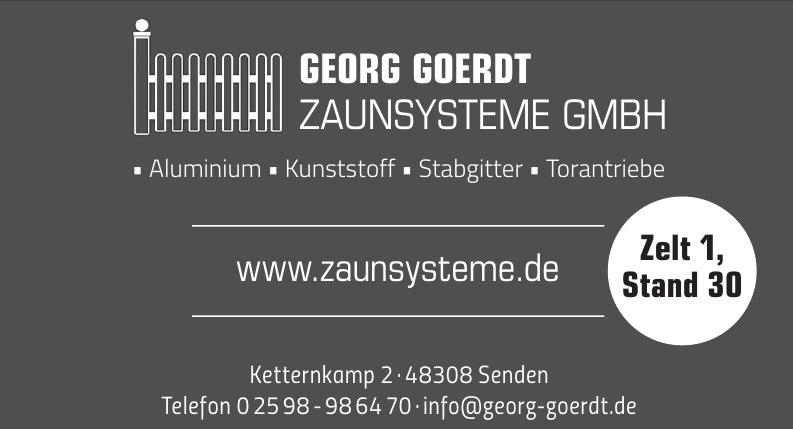 Georg Goerdt Zaunsysteme GmbH