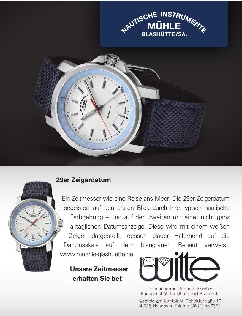 Witte Uhrmachermeister und Juwelier Fachgeschäft für Uhren und Schmuck