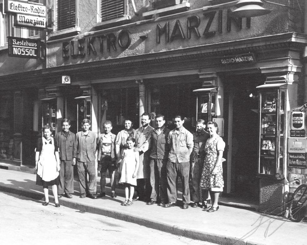 Rita und Bernhard Marzini haben das Fachgeschäft Marzini in der zweiten Generation jahrzehntelang geführt. Fotos: Archiv/Privat