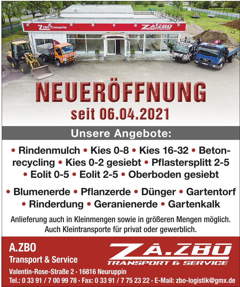 A.ZBO Transport & Service