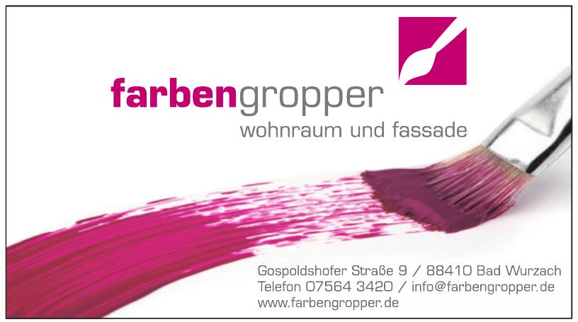Farben Gropper GmbH