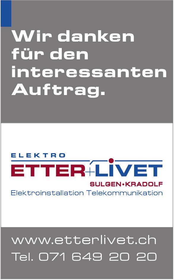 Elektro Etter+Livet