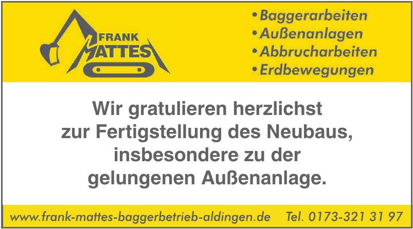 Frank Mattes Baggerbetrieb GmbH & Co. KG