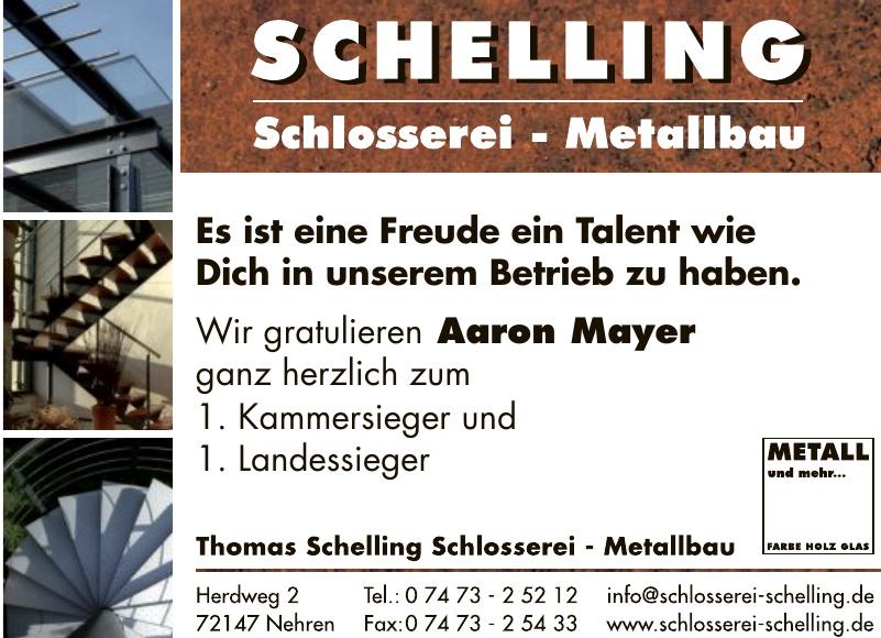 Thomas Schelling Schlosserei - Metallbau