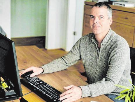 Martin Hoffmann betreibt das Geschäft schon in der dritten Generation. Foto: bjö