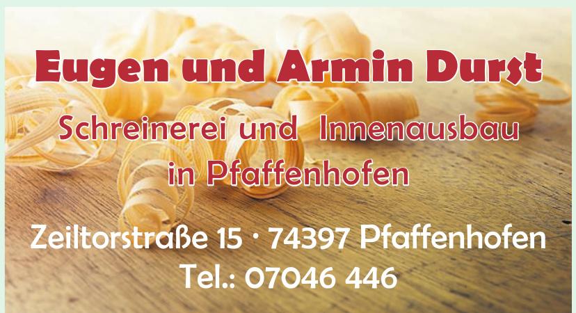 Eugen und Armin Durst