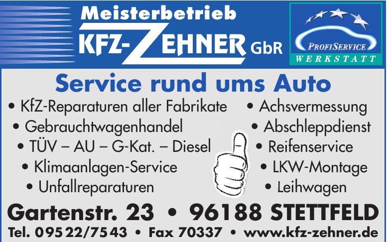 Meisterbetrieb KFZ- Zehner GbR