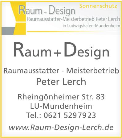 Raum + Design Peter Lerch