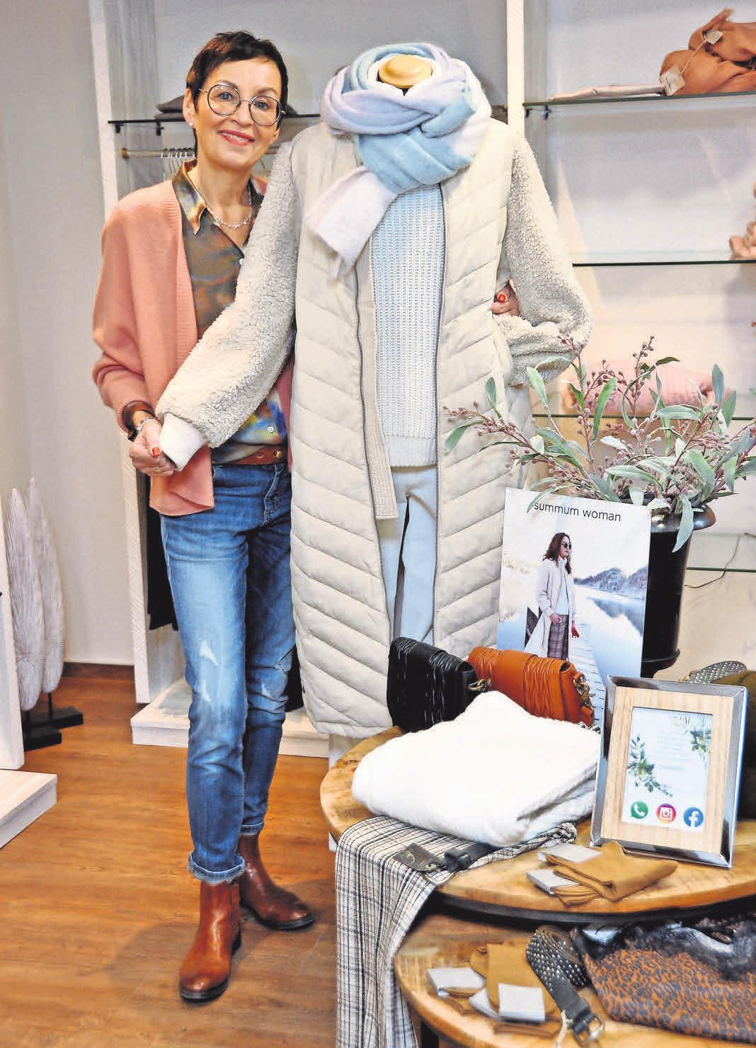 Iris Heitmüller weiß, welche Mode angesagt ist.